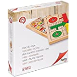 Cayro 632 - Parchís de madera, juego de tablero (632) - Parchis + Oca (30x30), Juego de Mesa