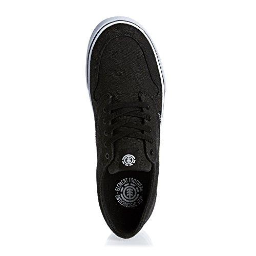 Element Herren Topaz C3 Sneakers Low-Top Black Washed