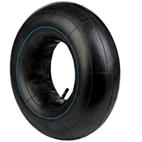 BITS4REASONS MAYPOLE MP2150 MULTIPURPOSE 8 INCH INNER TUBE 3.50/4.00 X 8 350/400 x 8 16 X 4 TR13 STRAIGHT RUBBER VALVE -FITS TRAILERS, WHEELBARROWS, KARTS, QUAD BIKES AND AGRICULTURAL MACHINERY