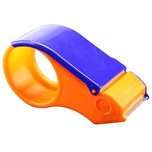 OUNONA Handabroller für Paketband Klebebandspender Desktop Klebebandspender Tape Cutter Verpackung Bandspender 5cm Breite Office Tape Dispenser Büro Schulbedarf