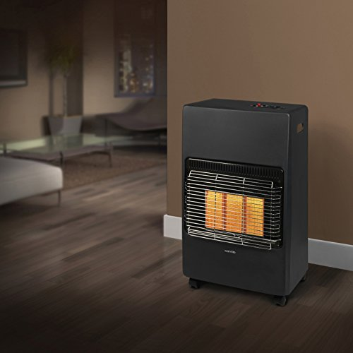 Warmlite WL39001 Gas Heater - Black