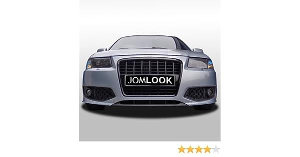Sport Look mit schwarzem Grill mit Nebel-Cover JOM 8L0807103S JOM Sto/ßstange,vorn