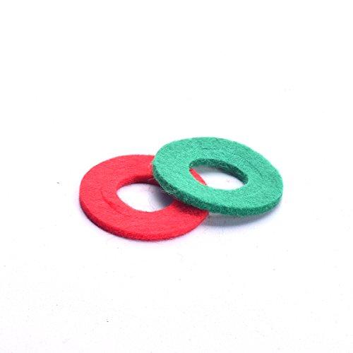 Cocar Auto Batterie Korrosions Faser Unterlegscheiben Säure Chemische Korrosion Terminal Schutze für Batterie Kabel Verbindungsstelle (Satz von 2)