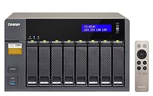 QNAP TS-853A-4G 32TB (8 x 4TB WDPro) 8-Bay NAS Unit mit 4GB RAM rot
