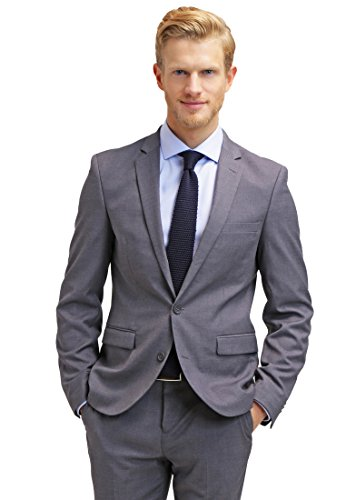 cheap for discount 1e1c9 26253 Pier One Anzug Herren Slim Fit Grau Anthrazit, Größe 50