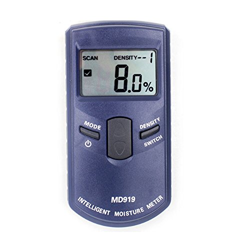 Genau Induktive Digitale Papier Feuchtigkeit Tester Meter Detektor Messgerät MD919 Bereich 4% ~ 40% Digital Induktive Spannung Detektor