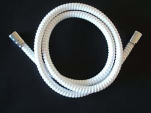Flexible de douche Blanc 150 cm, Ø 11mm