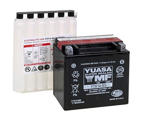 Suzuki 1400Gsx/1000SV/1000V-Strom/1100gsxg/650burgman-batterie Yuasa ytx14bs