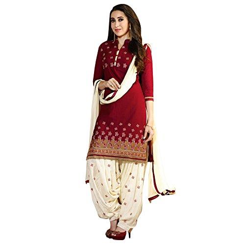 Indischen Salwar Kameez Unstitched Cotton pakistanischen Traditionelle (Anzüge Order Mail)