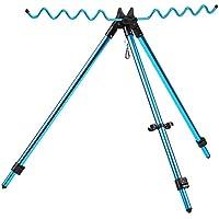 Lixada Barras de Pesca Ajustables Telescópicas Portable Trípode Soporte para Mar Playa Gruesa Costa