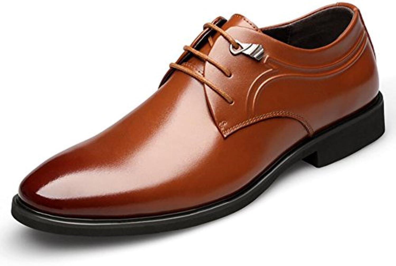 Zapatos de Hombre PU Primavera/Otoño Zapatos Formales Zapatos para Caminar Negro/Marrón/Hombre Boda/Zapatos Formales...