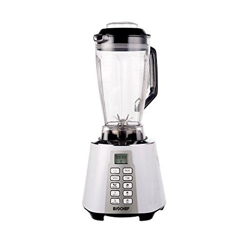 Bio Chef Nova – Batidora de Vaso | Blender | Batidora Americana de Vaso | 1600W | 28.000RPM | BPA Free | 6 programas (Blanco)