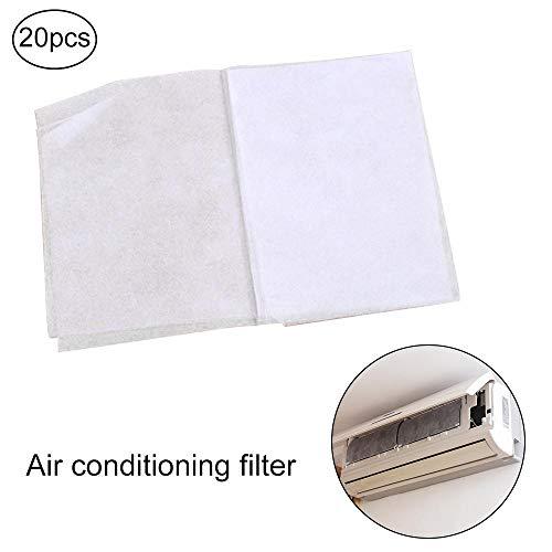 Lesgos Filter für Klimaanlagen, 16x25 Zoll Luftfilter Ersatzfilter Pads Entlüftungsfilter für Zuhause