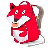 Affenzahn Kinderrucksack mit Brustgurt Frida Fuchs für 1-3 Jährige Jungen und Mädchen im Kindergarten oder Kita - Rot