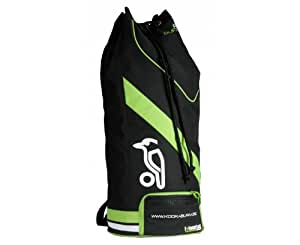 Kookaburra 2014 Pro Cricket Kit Duffle Bag - Black/Lime/White, 82 x 34 cm