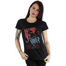 Star Wars mujer Darth Vader Rock Poster Camiseta