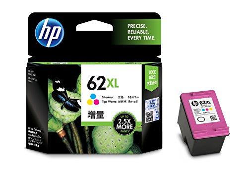 Cartucho de tinta de alto rendimiento, HP 62XL