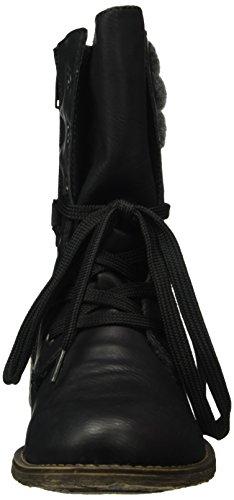 Rieker 70831, Bottes Classiques Femme Noir (Schwarz/Granit/01)