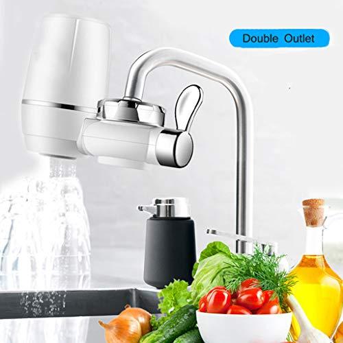 Roma lt filtro del rubinetto depuratore di anticalcare filtro dell'acqua del rubinetto sistema di filtraggio dell'acqua del rubinetto rubinetto del depuratore d'acqua abs