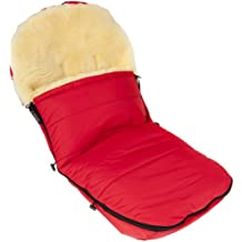 Kaiser - Saco de abrigo con forro fabricado en piel de cordero para todos los modelos de las marcas Bugaboo y Joolz