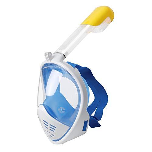 YouPei® Masque de plongée Complet, Masque de plongée avec Vue Grand Angle à 180 ° Masque de plongée de Masque de plongée Complet Masque Anti-buée et Anti-fuites avec des Bouchons d'oreilles