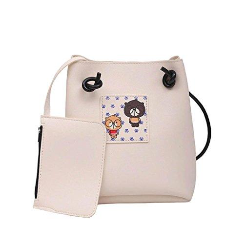 Longra Donna Stampa singola confezione del sacchetto di all-match del sacchetto di spalla singolo del sacchetto H