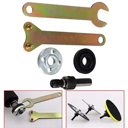 Yongse 10mm Schaft Arbor Dorn Drill Winkeladapter für Grinder Trennscheiben Disc - Drill Grinder