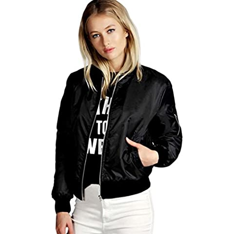 Fortan Cappotto del rivestimento donna pro nuovo modo del motociclista del motociclo soft Zipper breve