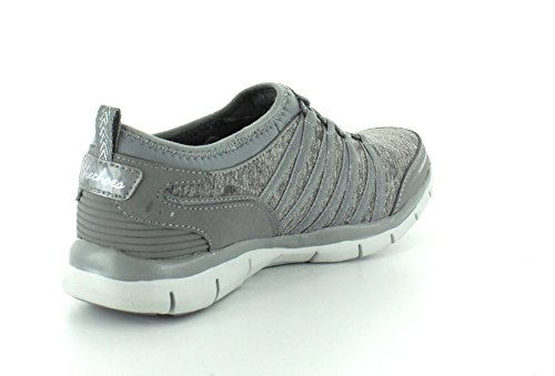 Skechers Damen Gratis Shake-It-Off Sneakers Grau