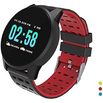 SOLKA Fitness Tracker Monitor de Ritmo cardíaco-1.3 Pantalla de Color Grande IP67 Reloj de Fitness Impermeable con Monitor de sueño, Banda de ...