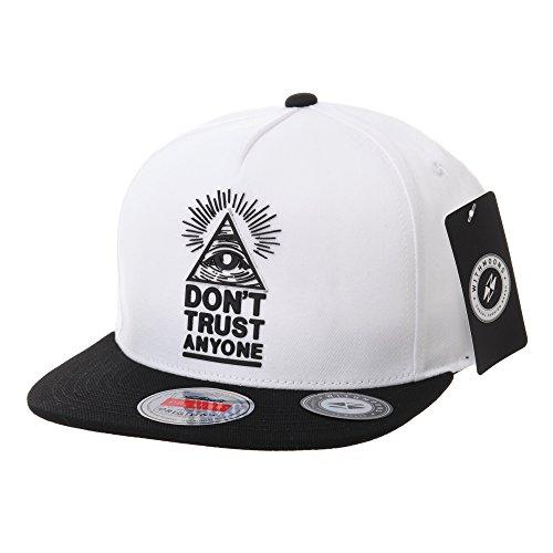 WITHMOONS Baseballmütze Mützen Caps Snapback Hat Illuminati Patch Hip Hop Baseball...