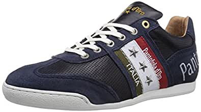Pantofola d'Oro ASCOLI PICENO LOW MEN, Herren Sneakers, Blau (DRESS BLUES), 45 EU
