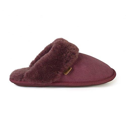 Just Sheepskin Duchess Plum 3/4 UK
