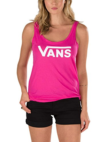 Damen Top Vans Flying V Tank Top Beetroot Purple