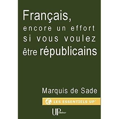 Français, encore un effort si vous voulez être républicains: Manifeste politique