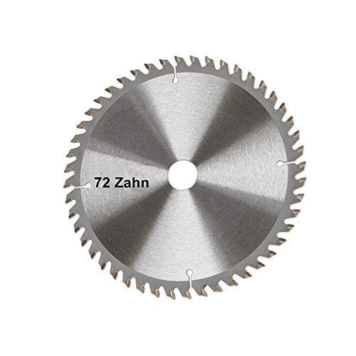 Scheppach 7901800602 Zubehör Säge Sägeblatt, passend für die Tauchsäge PL75, Vollholz, Laminat und Kunststoffe, Durchmesser 210 x 30 mm / 72 Z