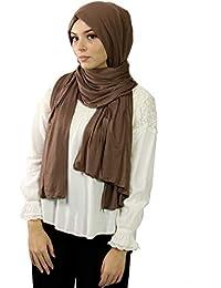 0a637c76a5d Hijab maxi jersey élastique châle femme musulmane voilée hijab islamique ...