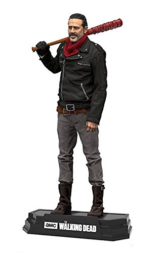 Mc Farlane The Walking Dead Actionfigur Negan mit Lucille, 18 cm groß aus Kunststoff