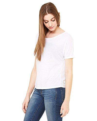 Bella Canvas -  T-shirt - Donna White
