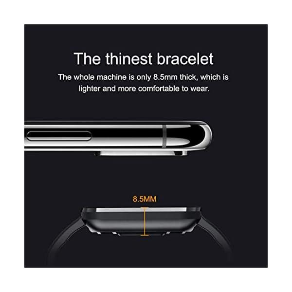EUMI Smartwatch, Reloj Inteligente con IP67, Pulsera Actividad Inteligente Batería 10-15 días 1.3'' a Color 8… 4