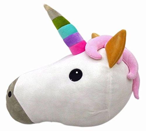 HENGSONG-Cartoon-Einhorn-Kissen-Emoji-Emoticon-Kissen-Spielzeug-Unicorn-Sofa-Deko-Baby-Kinder-Geschenk-Plsch-Spielzeug-3530cm