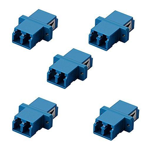 SIENOC 5x LC-LC Duplex-Lichtwellenleiter-Koppler-Kupplung -