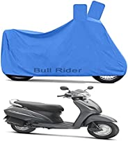 Bull Rider Two Wheeler Cover for Honda Activa 3G (Blue)