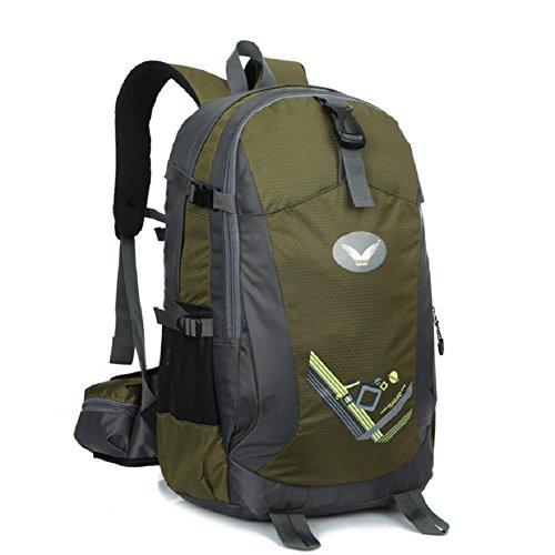 LF&F Backpack Neue Hochwertige Nylon Outdoor Travel Bergsteigen Rucksack Fitness Sport Radfahren Camping Party GepäCk Tasche Mehrzweck-Student Tasche A