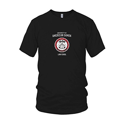 an Samoa - Herren T-Shirt, Größe: L, Farbe: schwarz (Nerd-hut)