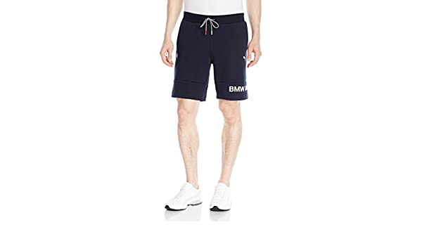2270c0b620335 Puma Men's BMW Motorsport Sweat Shorts, Team Blue, X-Small: Amazon ...