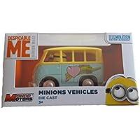 MINION Despicable Me, coche de juguete, retro, autocaravana, Hippy autocaravanas Vehículo