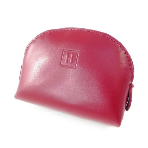 Hexagona [H9638] - Porte-monnaie cuir 'Hexagona' rouge