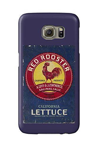 red-rooster-vegetable-vintage-crate-label-galaxy-s6-cell-phone-case-slim-barely-there