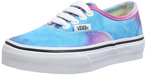 Vans AUTHENTIC Low-Top Sneaker, Unisex Bambino Multicolore (Tie Dye) pink/ FQ0)